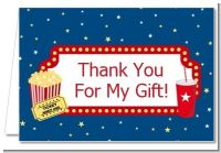 Movie Theater - Birthday Party Thank You Cards