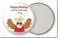 Mrs. Santa - Personalized Christmas Pocket Mirror Favors
