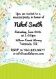 Musical Notes Colorful - Birthday Party Invitations thumbnail