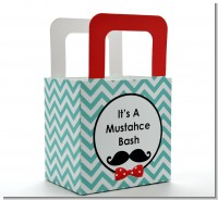 Mustache Bash - Personalized Birthday Party Favor Boxes