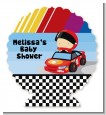 Nascar Inspired Racing - Personalized Baby Shower Centerpiece Stand thumbnail