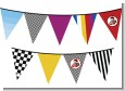 Nascar Inspired Racing - Baby Shower Themed Pennant Set thumbnail