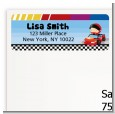 Nascar Inspired Racing - Baby Shower Return Address Labels thumbnail