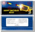 Nerf Gun - Personalized Birthday Party Candy Bar Wrappers thumbnail