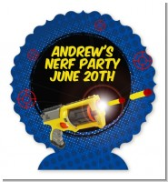 Nerf Gun - Personalized Birthday Party Centerpiece Stand