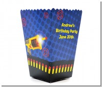 Nerf Gun - Personalized Birthday Party Popcorn Boxes