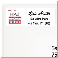 New Home - Real Estate Return Address Labels