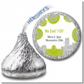 New Jersey Skyline - Hershey Kiss Bridal Shower Sticker Labels