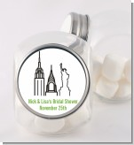 New York City - Personalized Bridal Shower Candy Jar