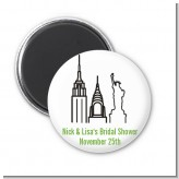 New York City - Personalized Bridal Shower Magnet Favors