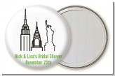New York City - Personalized Bridal Shower Pocket Mirror Favors