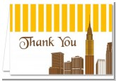 New York City Skyline - Bridal Shower Thank You Cards