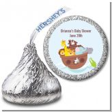 Noah's Ark - Hershey Kiss Baby Shower Sticker Labels