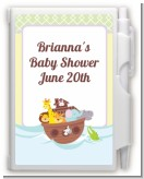 Noah's Ark - Baby Shower Personalized Notebook Favor
