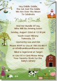 Nursery Rhyme - Baby Shower Invitations