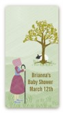 Nursery Rhyme - Little Bo Peep - Custom Rectangle Baby Shower Sticker/Labels