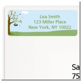 Nursery Rhyme - Rock a Bye Baby - Baby Shower Return Address Labels
