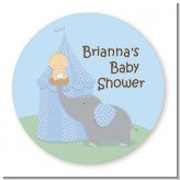 Our Little Peanut Boy - Personalized Baby Shower Table Confetti