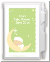 Over The Moon - Baby Shower Personalized Notebook Favor