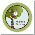 Owl Birthday Boy - Personalized Birthday Party Table Confetti thumbnail