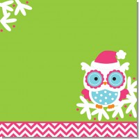 Winter Owl Christmas Theme