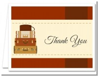 Pack Your Bags Destination - Bridal Shower Thank You Cards