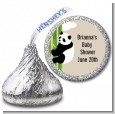 Panda - Hershey Kiss Baby Shower Sticker Labels thumbnail