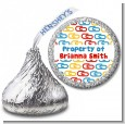 Paper Clips - Hershey Kiss School Sticker Labels thumbnail