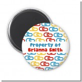 Paper Clips - Personalized School Magnet Favors