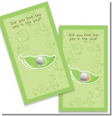 Pea in the Pod - Baby Shower Scratch Off Game Tickets