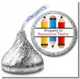 Pencils - Hershey Kiss School Sticker Labels thumbnail