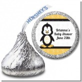 Penguin - Hershey Kiss Baby Shower Sticker Labels