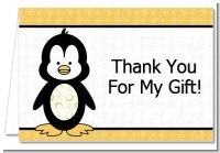 Penguin - Baby Shower Thank You Cards