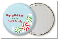 Peppermint Candy - Personalized Christmas Pocket Mirror Favors