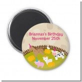 Petting Zoo - Personalized Birthday Party Magnet Favors