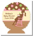 Pickles & Ice Cream - Personalized Baby Shower Centerpiece Stand thumbnail