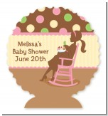 Pickles & Ice Cream - Personalized Baby Shower Centerpiece Stand