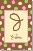 Pickles & Ice Cream - Personalized Baby Shower Nursery Wall Art