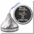 Pine Cones - Hershey Kiss Christmas Sticker Labels thumbnail