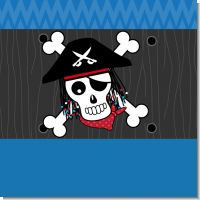 Pirate Skull Birthday Party Theme