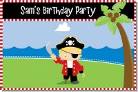 Pirate - Personalized Birthday Party Placemats