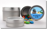 Pirate Ship - Custom Baby Shower Favor Tins