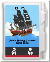 Pirate Ship - Birthday Party Personalized Notebook Favor
