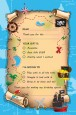 Pirate Treasure Map - Birthday Party Fill In Thank You Cards thumbnail