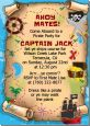 Pirate Treasure Map - Birthday Party Invitations thumbnail