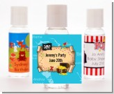 Pirate Treasure Map - Personalized Birthday Party Hand Sanitizers Favors