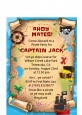 Pirate Treasure Map - Birthday Party Petite Invitations thumbnail