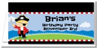 Pirate - Personalized Birthday Party Place Cards