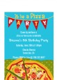 Pizza Party - Birthday Party Petite Invitations thumbnail