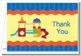 Playground - Birthday Party Thank You Cards thumbnail